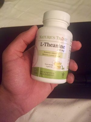 L-Theanine 200mg by Nature's Trove - 120 Vegetarian Capsules - fuel your creativity
